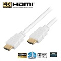 High Speed HDMI / HDMI Kabel - Hvid