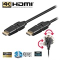 Goobay High Speed HDMI Kabel med Ethernet - Roterende