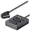 Goobay Multifunktionel Scart Adapter - RCA, S-Video, Scart - 0.5m