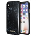 Guess Marble Collection iPhone X / iPhone XS Hybrid Cover