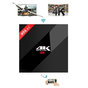 H96 Pro Plus 4K Ultra HD Android TV box