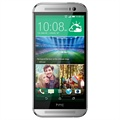 HTC One (M8) - 16GB - Sølv