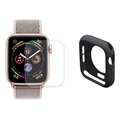 Hat Prince Apple Watch Series 5/4 Full Beskyttelsessæt - 44mm