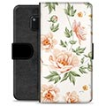Huawei Mate 20 Pro Premium Flip Cover med Pung - Floral