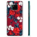 Huawei Mate 20 Pro TPU Cover - Vintage Blomster