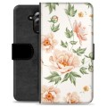 Huawei Mate 20 Lite Premium Flip Cover med Pung - Floral