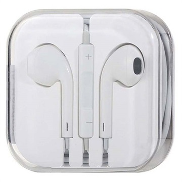 In-ear Headset - iPhone, iPad, iPod - Hvid