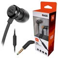 JBL T290 Pure Bass In-Ear Hovedtelefoner med Mikrofon - Sort