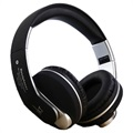 JKR 218B Sammenklappeligt Over-Ear Bluetooth Stereo Headset - Sort