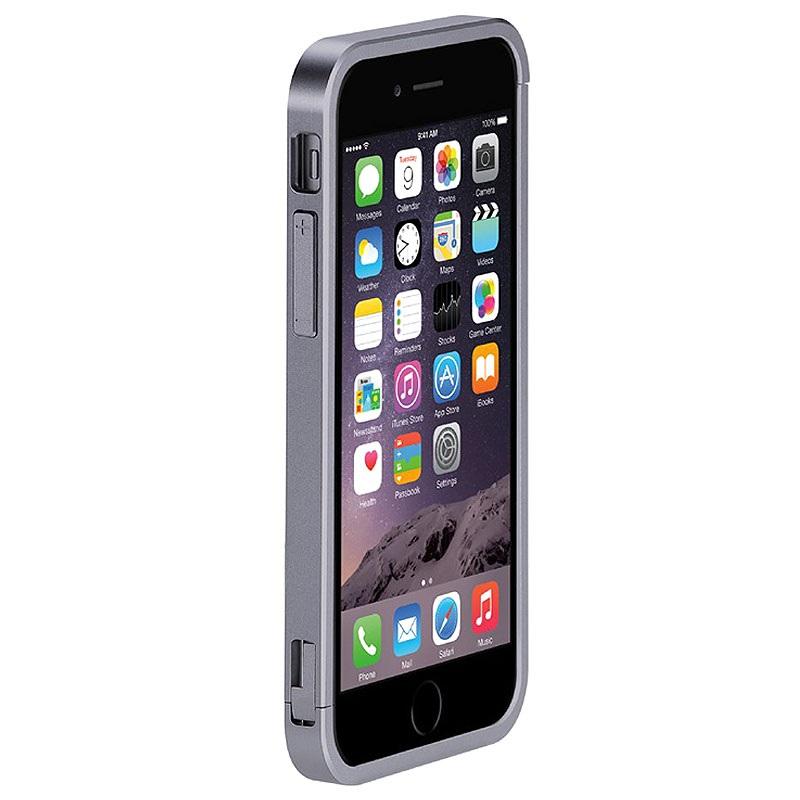 iphone 6 plus 6s plus just mobile aluframe bumper gr. Black Bedroom Furniture Sets. Home Design Ideas