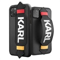 Karl Lagerfeld Strap iPhone 11 Pro Max Cover - Sort
