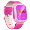 Kids GPS Tracking Smartwatch med Hands-Free Q70 - Pink