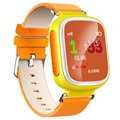 Kids GPS Tracking Smartwatch med Hands-Free Q70 - Gul
