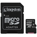 Kingston Canvas Select MicroSDXC Hukommelseskort SDCS/64GB - 64GB