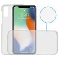 Ksix Flex 360 Beskyttelses iPhone X / iPhone XS TPU Cover - Gennemsigtig