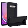 Layered Kickstand Samsung Galaxy S10+ Hybrid Cover