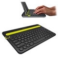 Logitech K480 Bluetooth Multi-Device Tastatur - Nordisk Layout - Sort