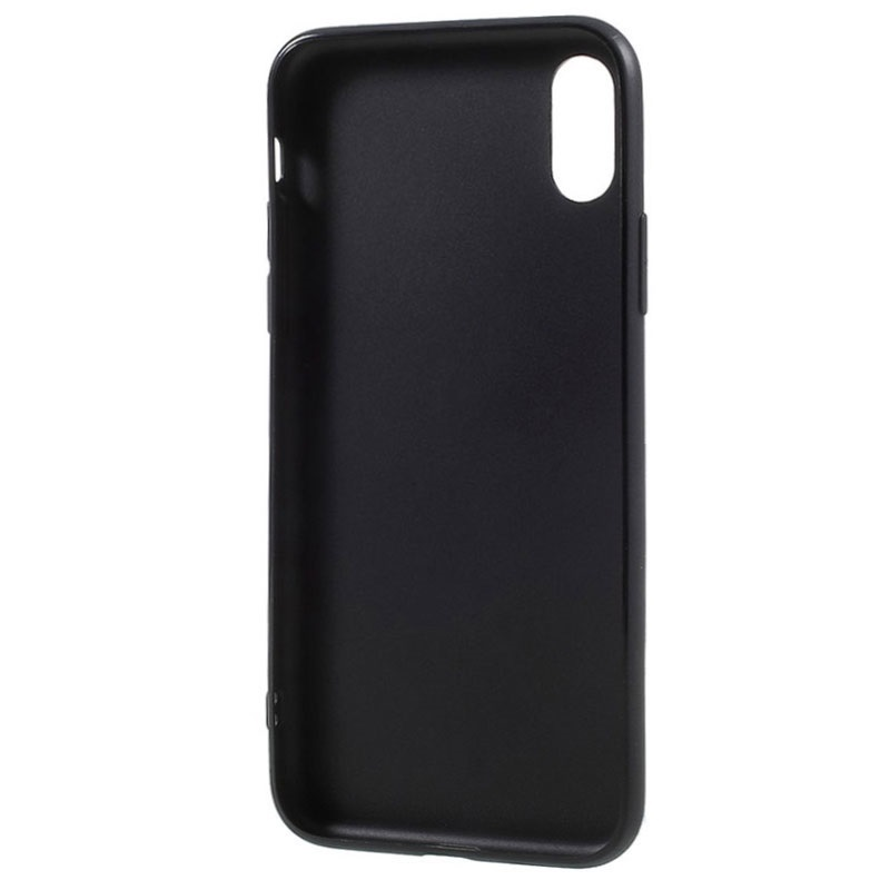 iPhone X / iPhone XS Anti-Fingeraftryk Mat TPU Cover
