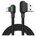 Mcdodo Night Elves 90-graders MicroUSB-kabel - 1.8 m - Titanium Sort