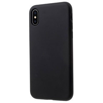 Mutural Liquid Ultra Slim iPhone X Silikone Cover