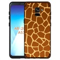 NXE Fashion Samsung Galaxy A8 (2018) TPU Cover