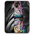 NXE Unique Series iPhone X / iPhone XS TPU Cover - Guldsmed