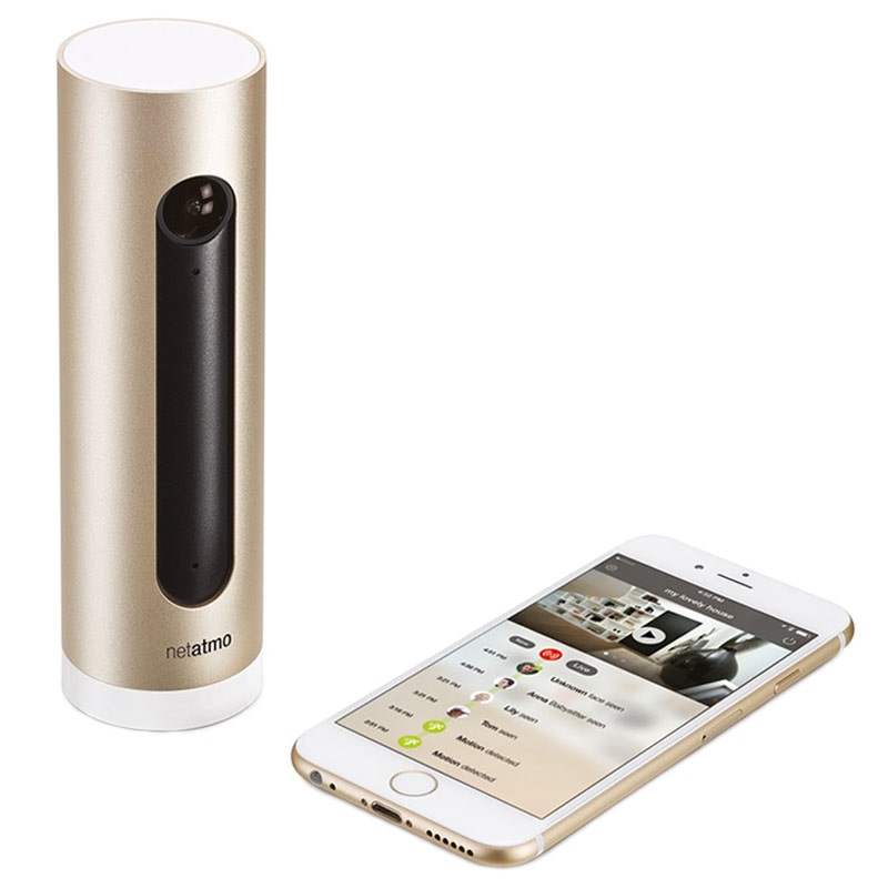 netatmo welcome smart home kamera ios android. Black Bedroom Furniture Sets. Home Design Ideas
