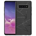 Nillkin Magic TPU Samsung Galaxy S10+ Qi Cover - Sort