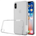 iPhone X / iPhone XS Nillkin Nature Series 0.6mm TPU Cover - Gennemsigtig