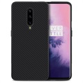 Nillkin Synthetic Karbonfiber OnePlus 7 Pro Cover - Sort