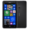 Nokia Lumia 625 - 8GB - Fabriksrenoveret - Sort