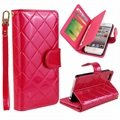 iPhone 5 / 5S / SE Organizer Pung Taske - Hot Pink