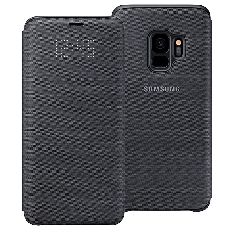 Samsung Galaxy S9 LED View Cover EF-NG960PBEGWW- Sort