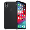 iPhone XS Apple Silikone Cover MRW72ZM/A - Sort