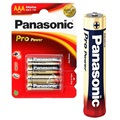 Panasonic Pro Power AAA Batteri LR03PPG - 1.5V - 1x4