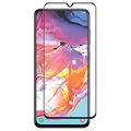 Panzer Premium Full-Fit Samsung Galaxy A70 Panserglas - Sort