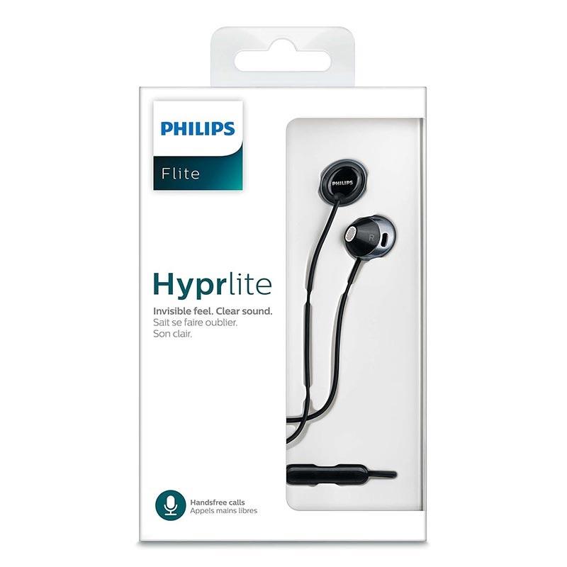 606e3b834de Philips Flite Hyprlite In-Ear Hovedtelefoner med Mikrofon - SHE4205BK/00 -  Sort