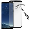 Prio 3D Samsung Galaxy S8 Panserglas - 9H, 0.33mm - Sort