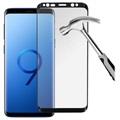 Prio 3D Samsung Galaxy S9 Panserglas - 9H, 0.33mm - Sort
