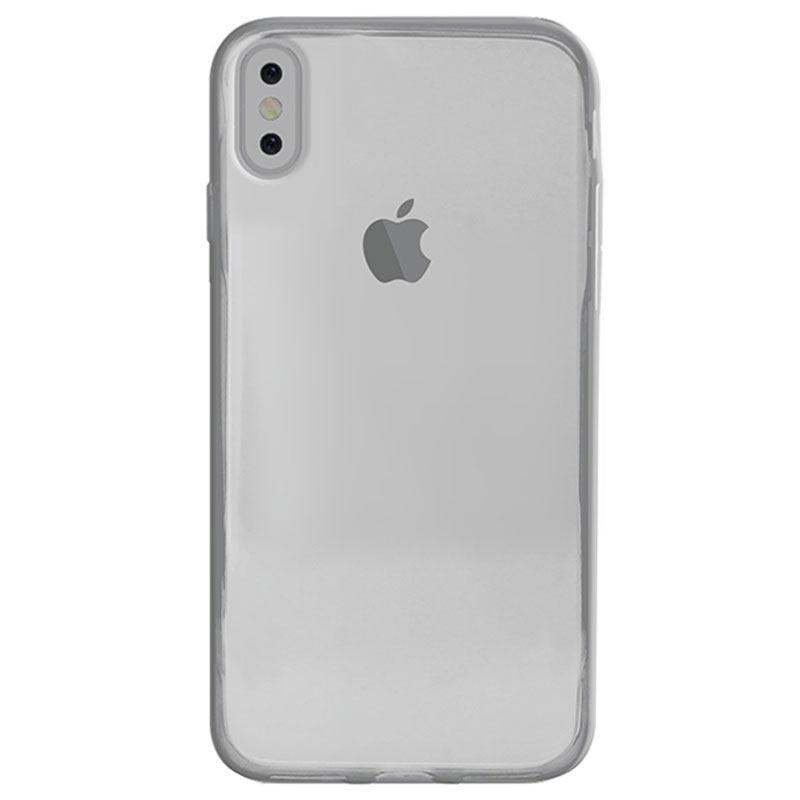 Puro 0.3 Nude iPhone X / iPhone XS TPU Cover - Blå