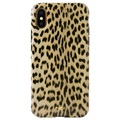 Puro Leopard Anti-Shock iPhone XS Max Cover