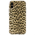 Puro Leopard iPhone X / iPhone XS Cover