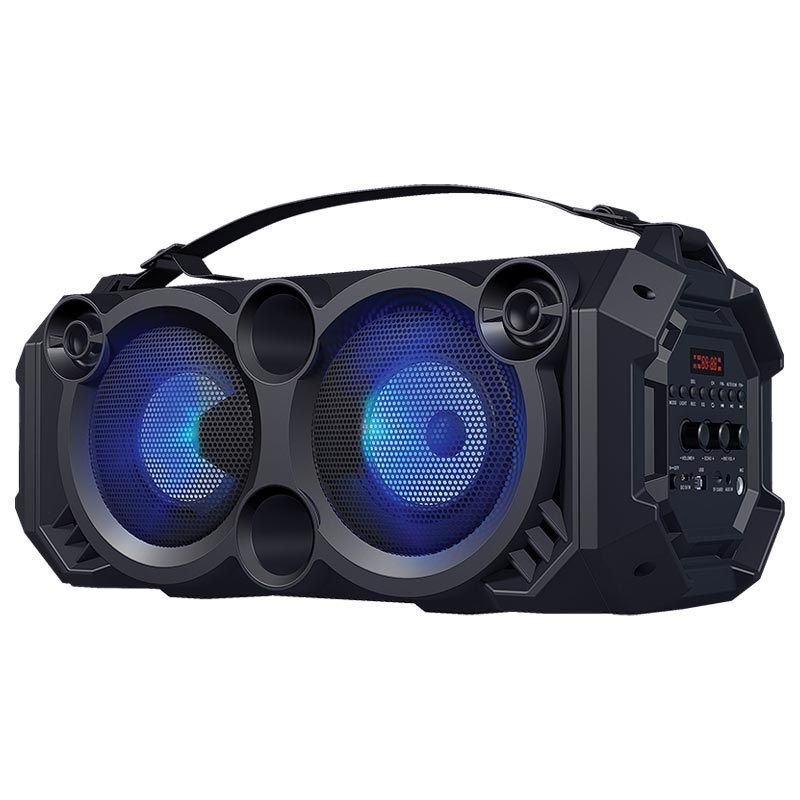 Moderne Rebeltec SoundBox 460 Bluetooth-højtaler med RGB - 40W RMS - 4000mAh LN-72