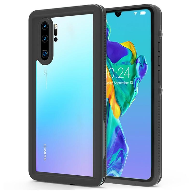 Redpepper IP68 Huawei P30 Pro Vandtæt Cover - Sort / Klar