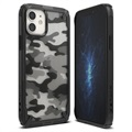 Ringke Fusion X Design iPhone 12/12 Pro Hybrid Cover - Camouflage / Sort