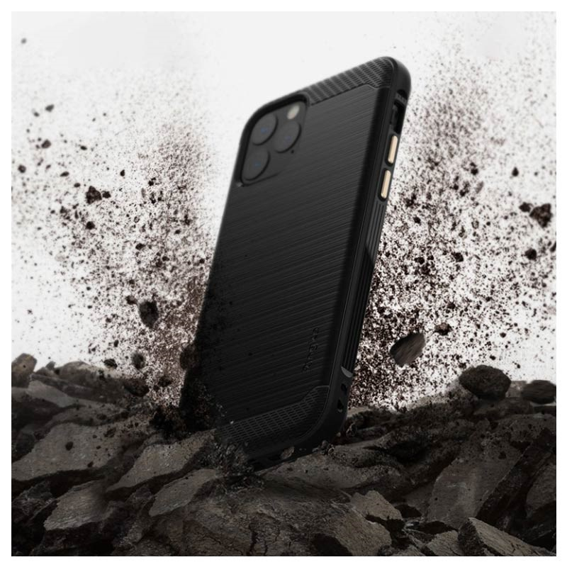 Ringke Onyx iPhone 11 Pro TPU Cover - Sort