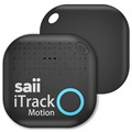 Saii iTrack Motion Alarm Smart Nøglefinder - Sort