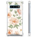 Samsung Galaxy S10+ Hybrid Cover - Floral