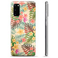 Samsung Galaxy S20 TPU Cover - Lyserøde Blomster