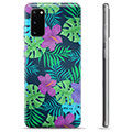 Samsung Galaxy S20 TPU Cover - Tropiske Blomster